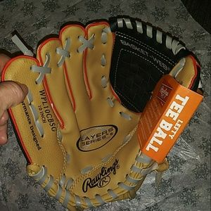 Brand New Rawlings T-ball Glove